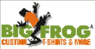 Big Frog Custom T-shirts and More logo