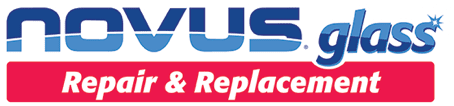 Novus glass repair and replacement logo