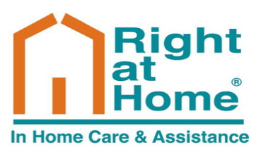 Right at Home in home care and assistance logo