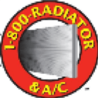 1-800-Radiator and A/C logo