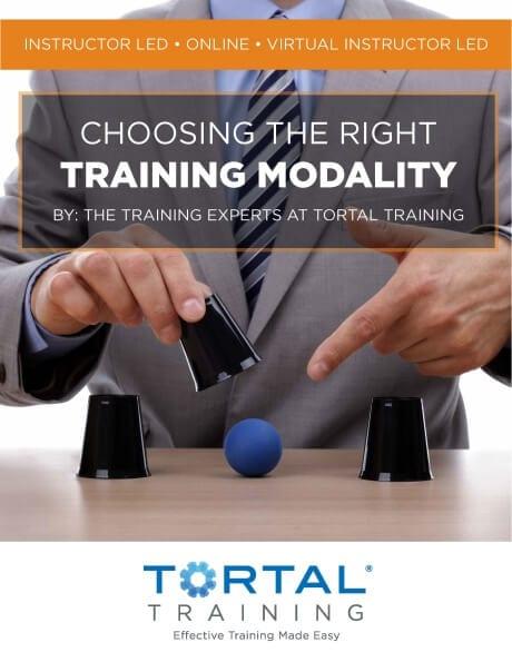 Choosing the Right Training Modality