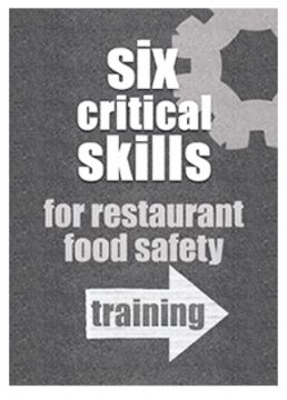 FOOD SAFETY TRAINING BOOK COVER