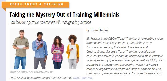 Click on the picture of the millennials above to read my new article.