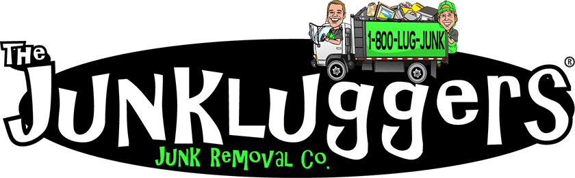 The Junkluggers junk removal co logo