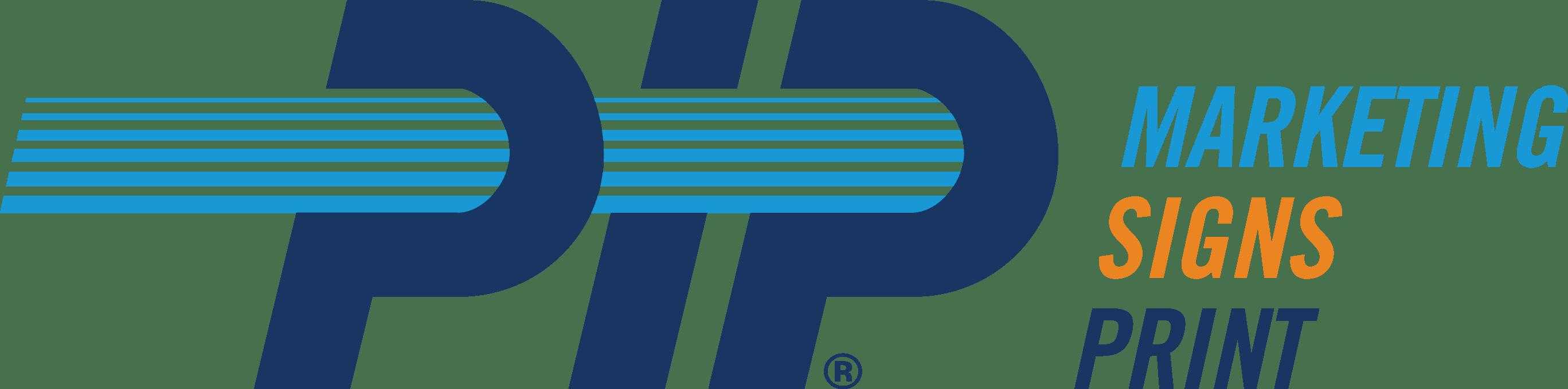 PIP Marketing Signs Print logo