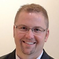 headshot of Brannon Dreher VP of learning strategies