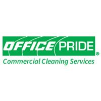 Office Pride: commercial cleaning services logo