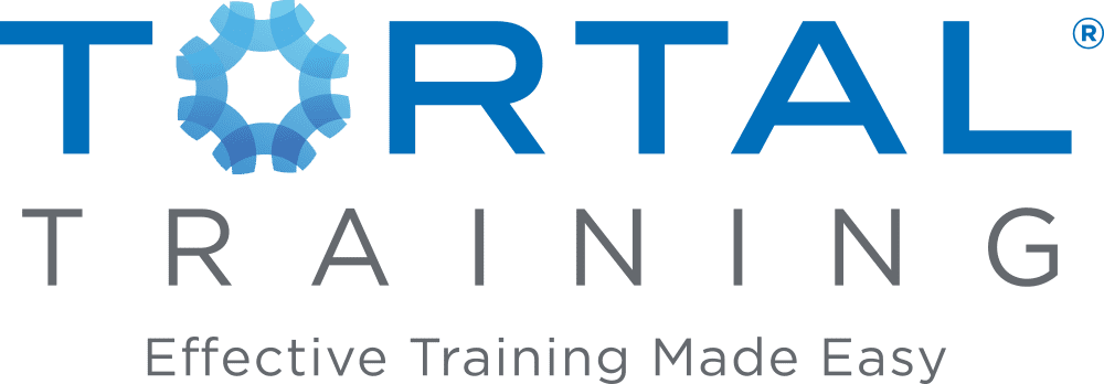 Tortal Training Logo with tagline Effective Training Made Easy